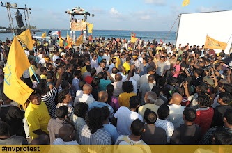 Photo: Insaafuge dhathuru 18/02/2012. Photo/Sharaff