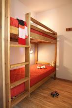 Photo: Une chambre avec lits-superposés d'un appartement 2 pièces pour 4 personnes