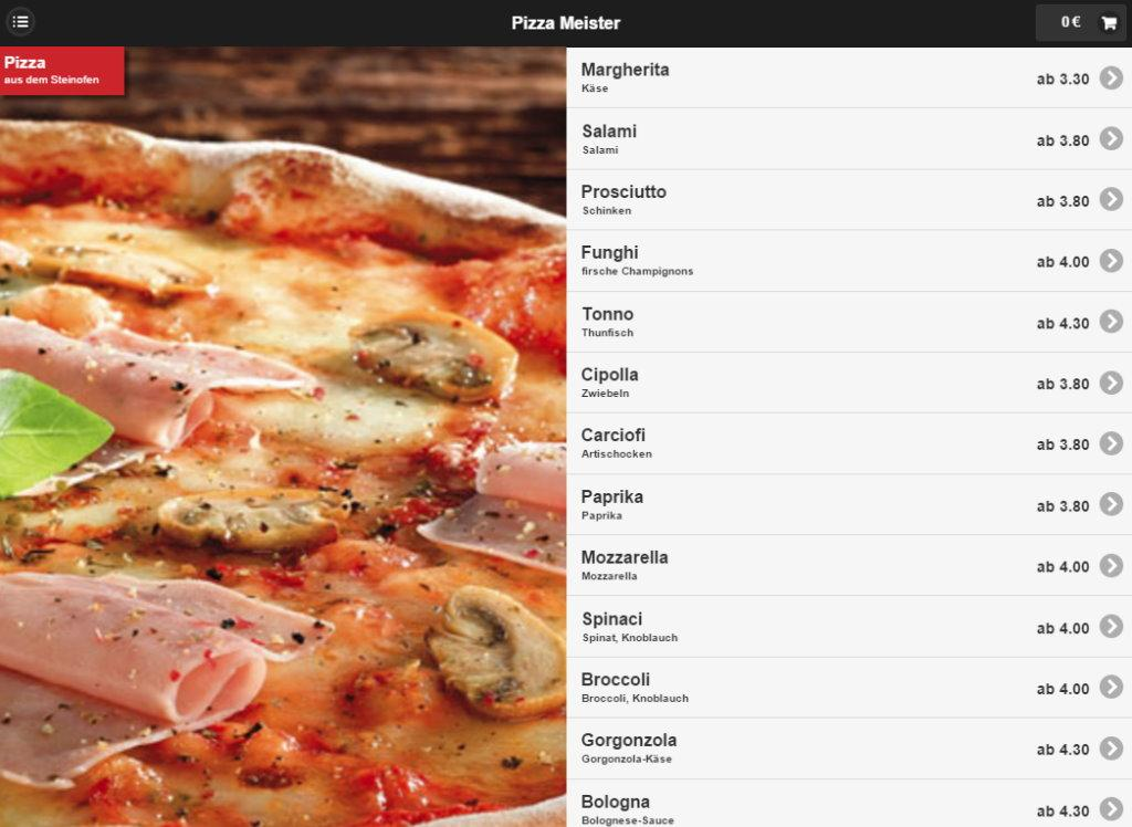 Pizza Meister Leverkusen- screenshot