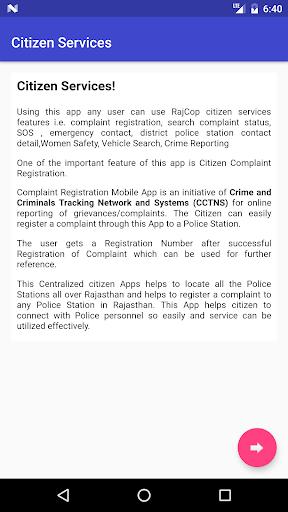 RajCop Citizen screenshot 3