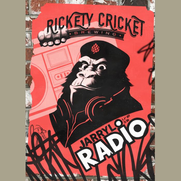 Logo of Rickety Cricket Brewing Jarrylo Radio
