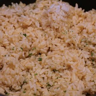Oil-Free (Chipotle Copycat) Cilantro-Lime Rice