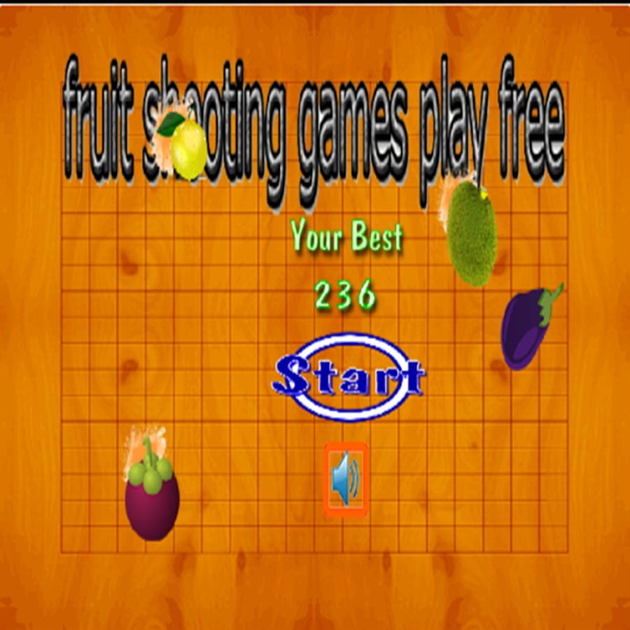 Fruit shooter games - Fruit Shooting Games Screenshot