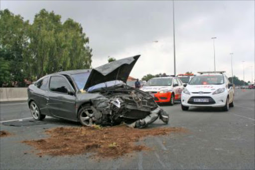 Spate of road accidents today
