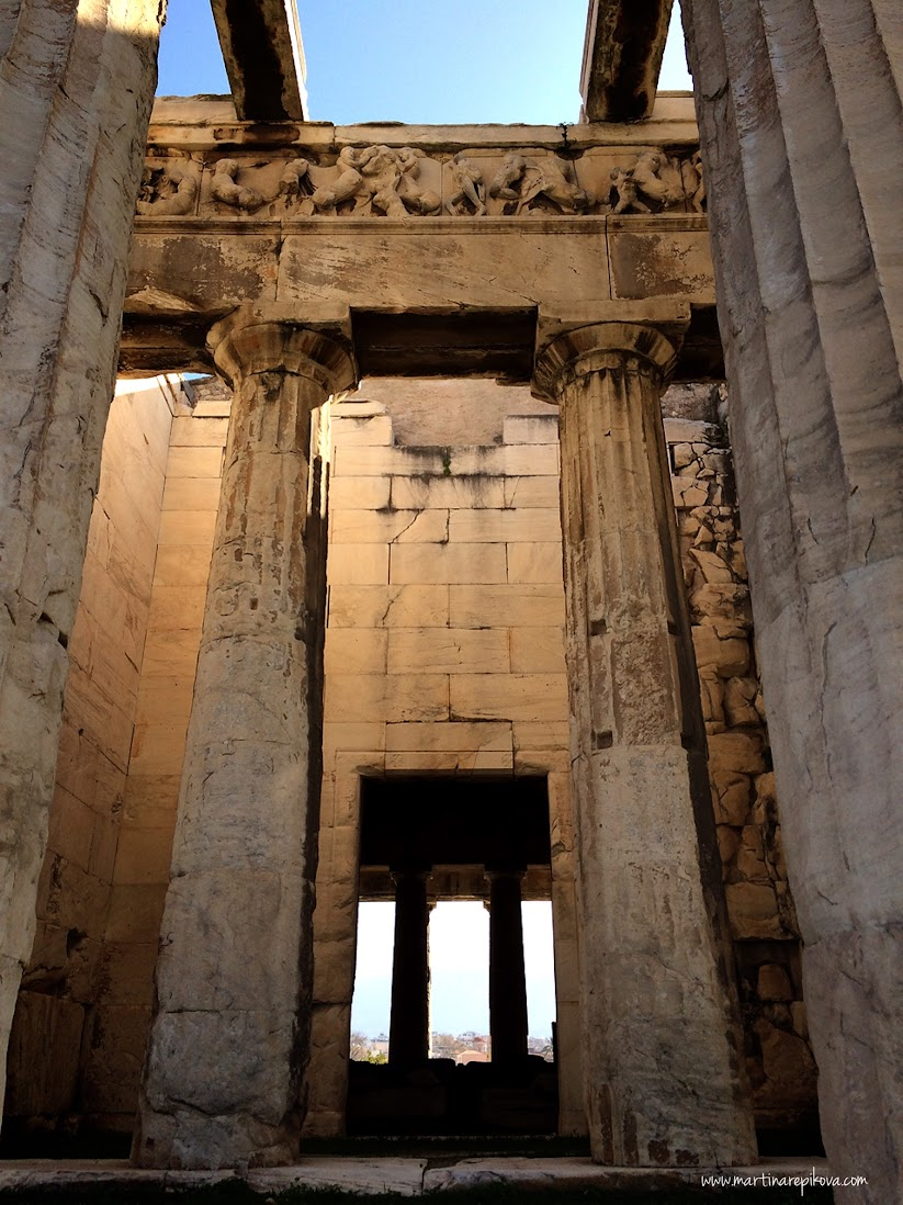 Temple of Hephaestos, Agora, Athens, Greece