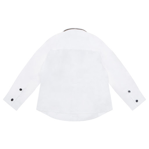 Thumbnail images of Emporio Armani Logo Embroidered Shirt