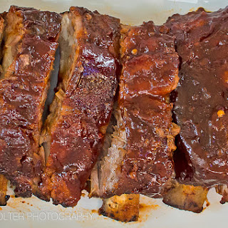 Melt in Your Mouth Oven Baked BBQ Baby Back Ribs.