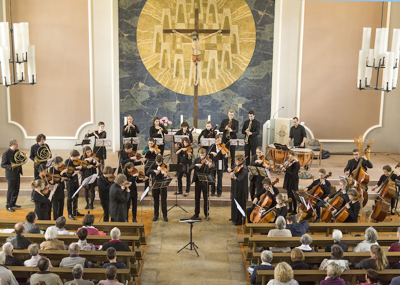Konzert in der Kirche in Schömberg