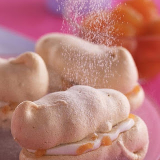 Ginger Meringue Sandwiches