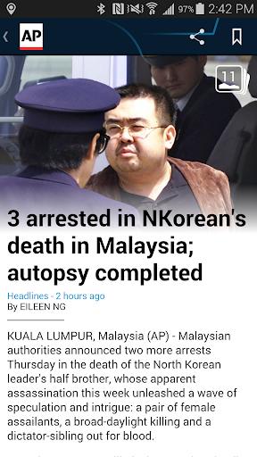 AP Mobile - Breaking News Screenshot