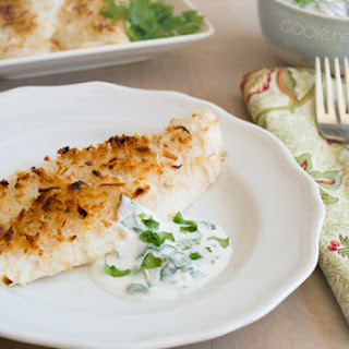 Crispy Coconut Baked Fish Fillets