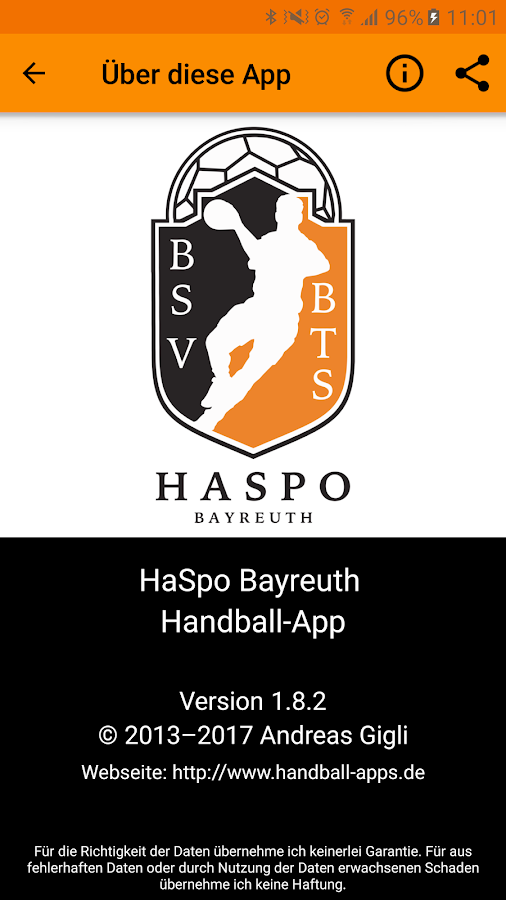 HaSpo Bayreuth- screenshot