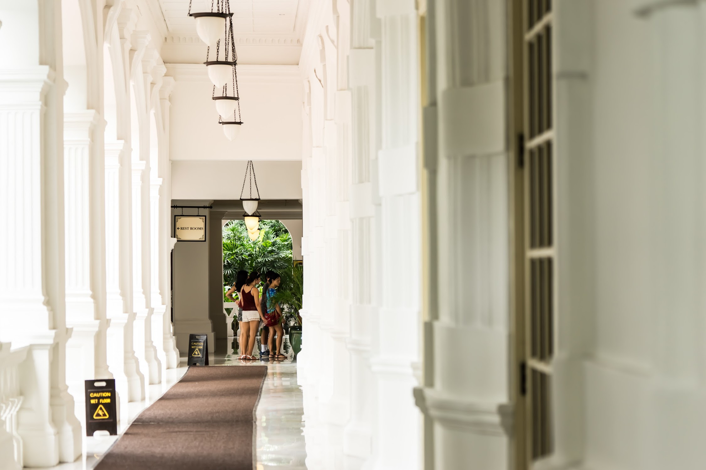 シンガポール ラッフルズ・ホテル3