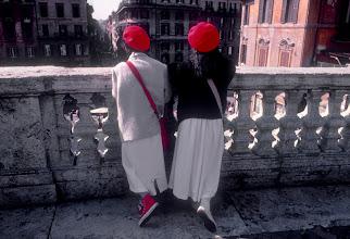 Foto: Italien, Rom, Spanische Treppe, 1985 (Italy, Rome, Scalinata di Spagna, 1985) © Eckhard Supp