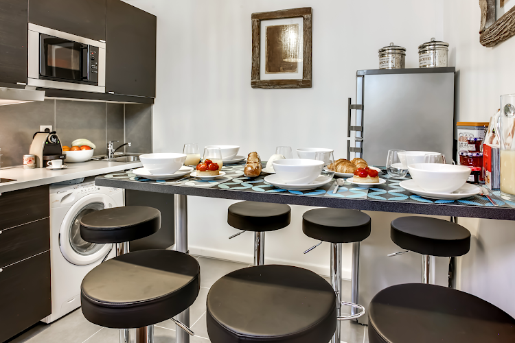 Fully equipped kitchen at Friedland