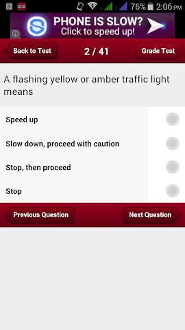android Alabama Car Driving Test Screenshot 15