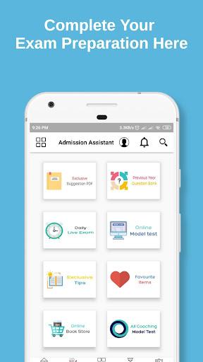 admission assistant screenshot 2