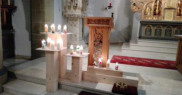 Friedenslicht 3. Advent, St.Johann - Riemsloh