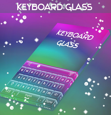 Glass Keyboard Theme 4.181.106.86 screenshot 1872203