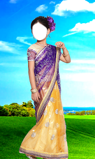 Kids Saree Photo Maker- screenshot thumbnail