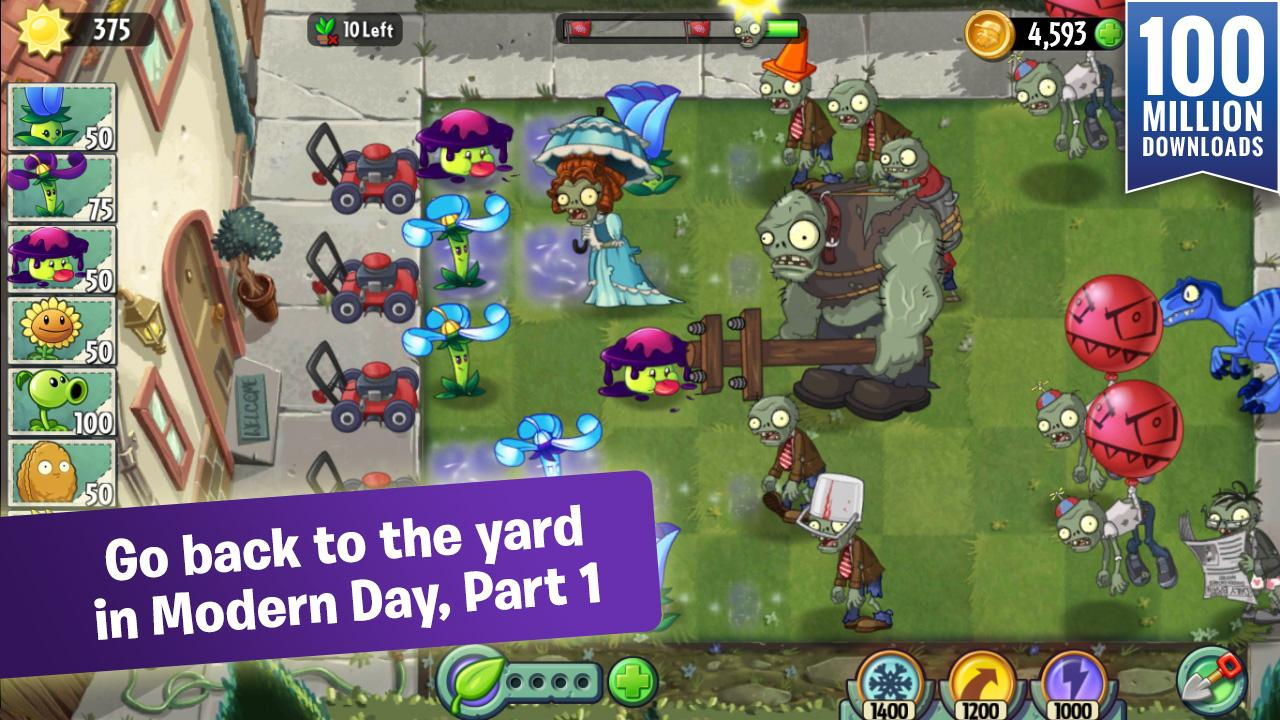 plants vs zombies 2 android apps on play