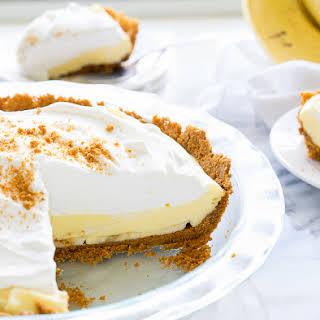 Biscoff Banana Cream Pie.
