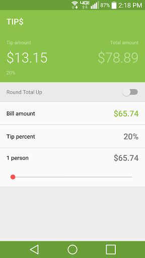 Tip$ - Tip Calculator