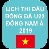 Lịch thi đấu bóng đá U22 Đông Nam Á 2019 Mod