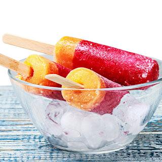 Limoncello & Raspberry Whiskey Sour Popsicles Recipe