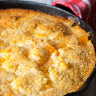 Two Two Easy Peach Cobbler Recipe