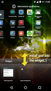 Zenka the cat widget screenshot 1