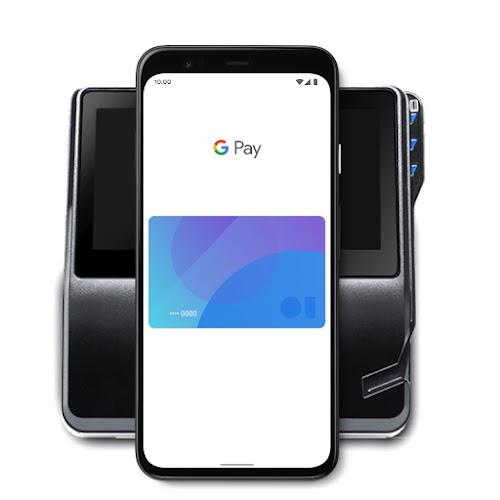 Un teléfono usa GooglePay
