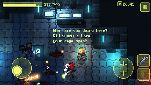 Ailment: space shooting pixelart game apktreat screenshots 2