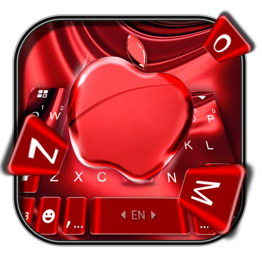 Red Cherry Blush Apple Keyboard Theme Icon