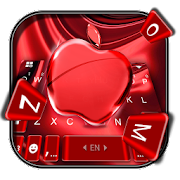 Free Red Cherry Blush Apple Keyboard Theme APK for Windows 8