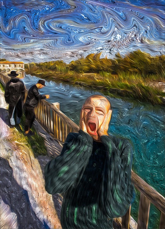 """""""L'urlo"""" di Edvard Munch  di alberto raffaeli"""