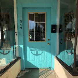 Turquoise Door by Diane Garcia - Instagram & Mobile iPhone ( turquoise, blue, door )