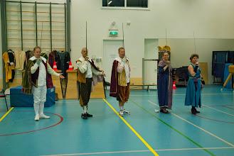 Photo: Generale repetitie - de afgroet