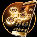 Golden Fidget Spinner Theme icon