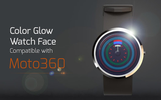 Color Glow Watch Face