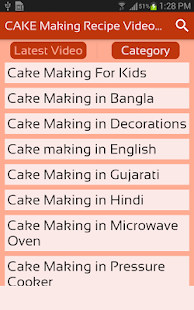 CAKE Making Recipe Videos App - How to Make Cake - náhled
