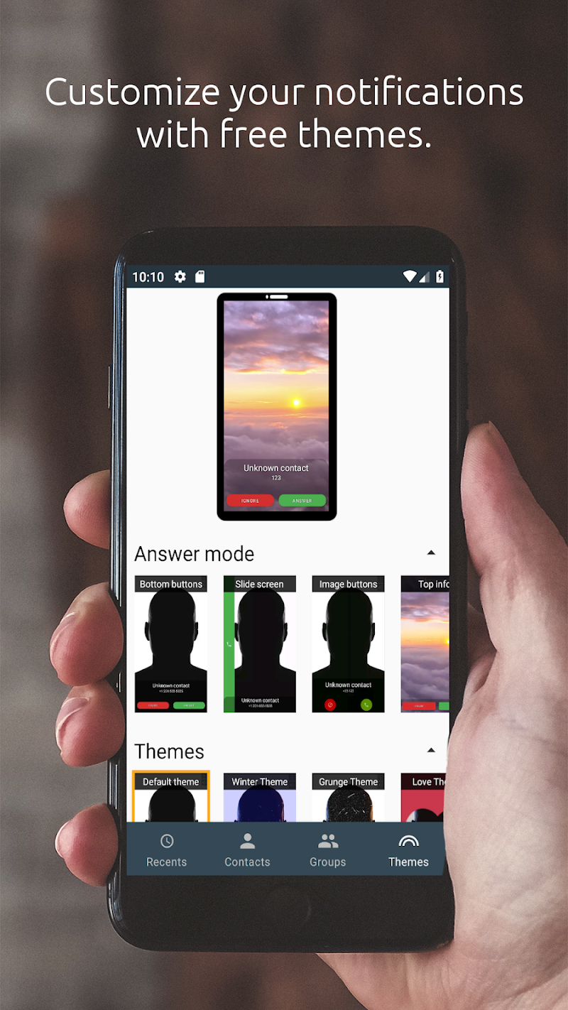 Full Screen Caller ID Screenshot 4