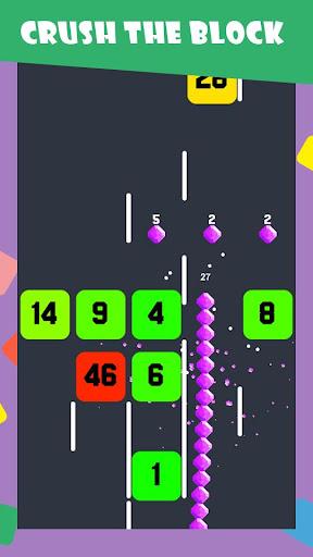 Slide And Crush - redesign snake game 2.2.6 screenshots 2