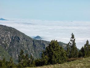 Photo: Dans la vallée ,c'est la mer de nuages ,pour nous grand beau