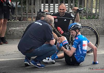 Schade dikt aan in Giro: ook ritwinnaar van rit 4 die betrokken was bij val Landa vertrekt niet meer