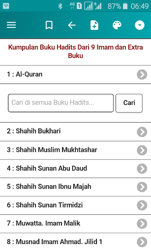 Download Kumpulan Hadits Dari 9 Imam Dan Extra Buku For Free Latest