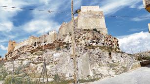 Restos arqueológicos ubicados en la falda de la Alcazaba