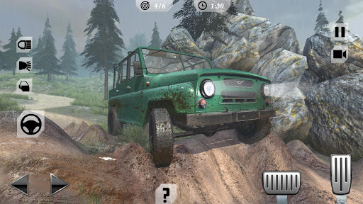 Off-Road Trucker Mountain Drive Simulator for PC