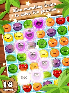 Fruit Pop! Puzzles in Paradise- screenshot thumbnail