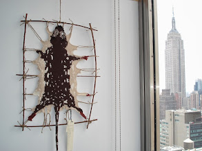 Photo: Tiger Quoll #2 with the Empire State Building. Photo credit: Ruth Marshall